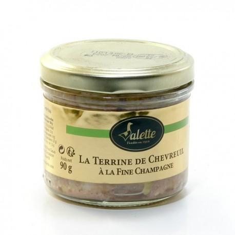 La Terrine de Chevreuil à La Fine Champagne 90g