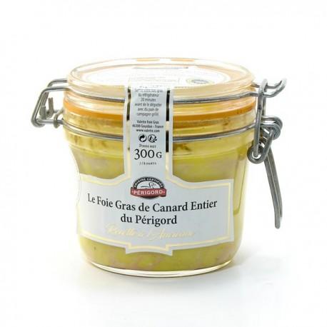 """Le Foie Gras de Canard Entier du Périgord """"Recette à L'Ancienne"""" - Conserve 300g"""