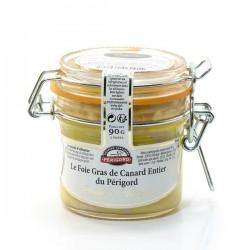 """Le Foie Gras de Canard Entier du Périgord """"Recette à L'Ancienne"""" - Conserve 90g"""