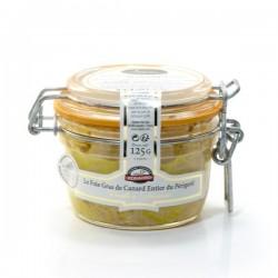 """Le Foie Gras de Canard Entier du Périgord """"Recette à L'Ancienne"""" - Conserve 125g"""