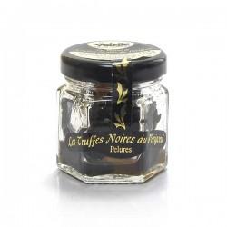 Pelures de truffes noires du Périgord tuber melanosporum 12,5g Valette