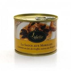La sauce aux morilles extra cuisinée au jus de truffes 200g Valette