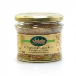La terrine de canard aux figues parfumée au loupiac 180g Valette