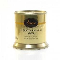 Le bloc de foie gras d'oie 200g Valette
